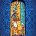 """Александр Емельянов. кулон в древнеегипетском стиле """"Нефертум"""". Медь, горячая пе"""